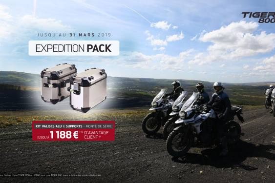OFFRE EXCLUSIVE - KIT BAGAGERIE TIGER OFFERT
